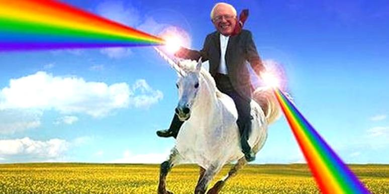 Bernie Sanders Magical Unicorn
