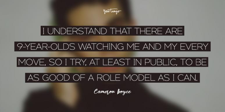 best cameron boyce quotes