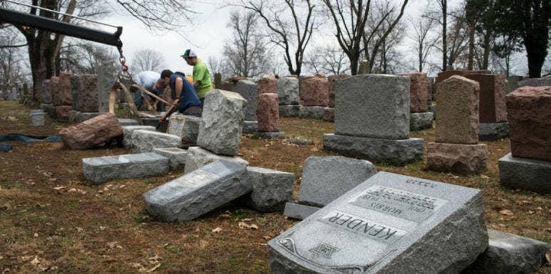 Chesed Shel Emeth Cemetery in University City, Mo.