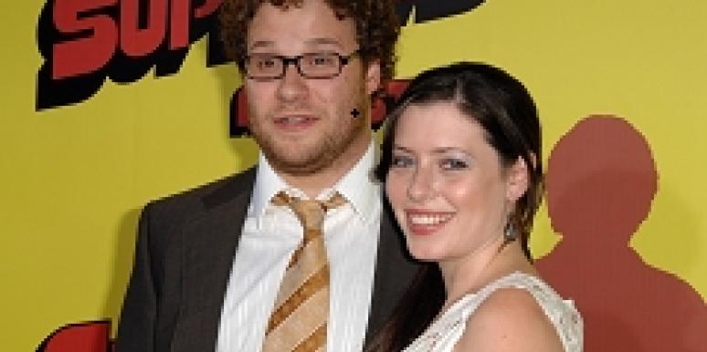 Seth Rogen and Lauren Miller, Photo Credit: INF