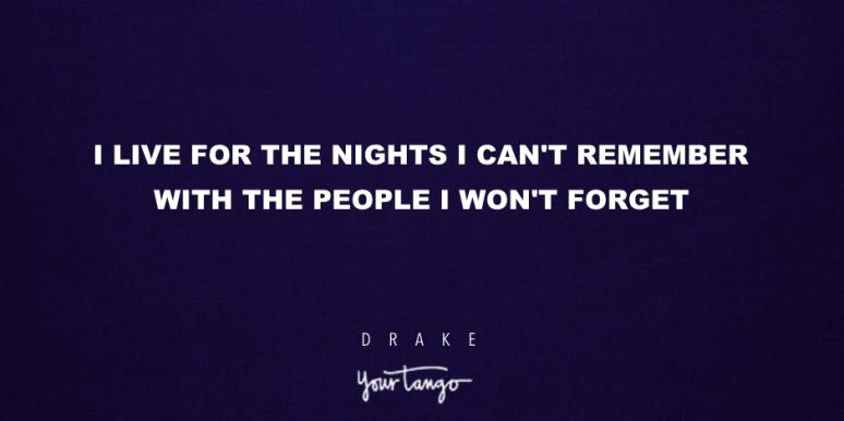 drake lyrics that make good instagram captions for friends
