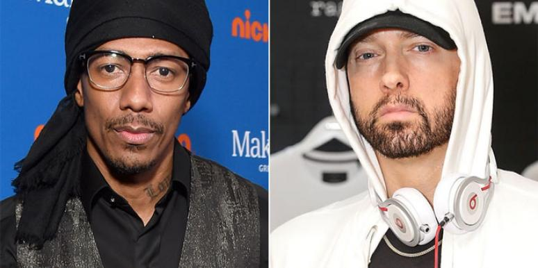 Why Are Eminem And Nick Cannon Feuding Over .... Mariah Carey?