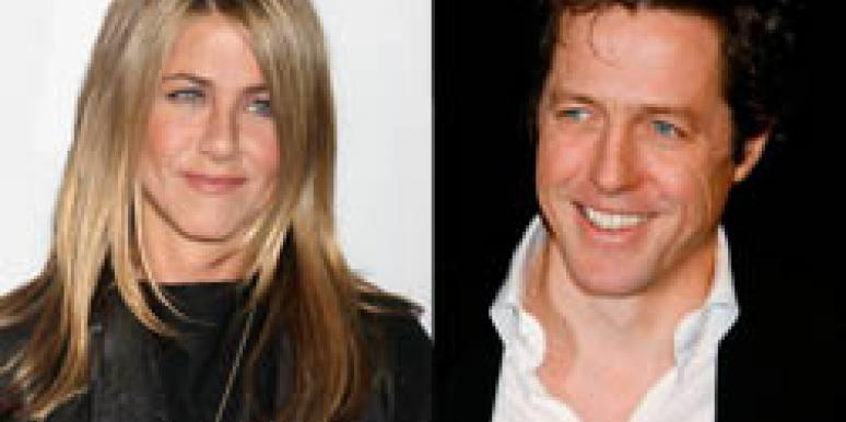 Jennifer Aniston and Hugh Grant