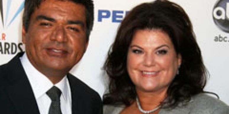 George Lopez and wife Ann Serrano
