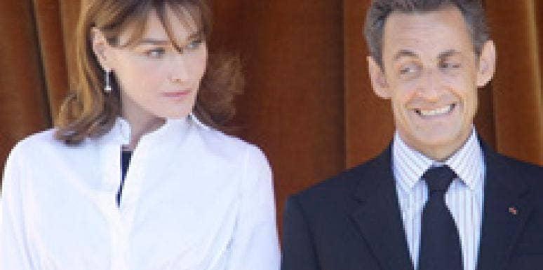 Carla Bruni Nicolas Sarkozy Affair