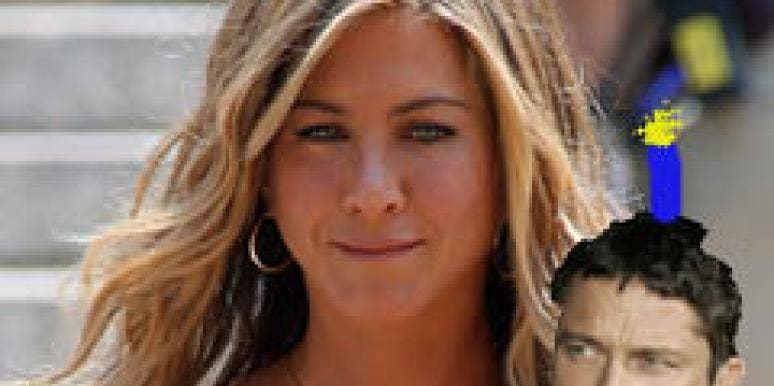 Jennifer Aniston Birthday Gerard Butler