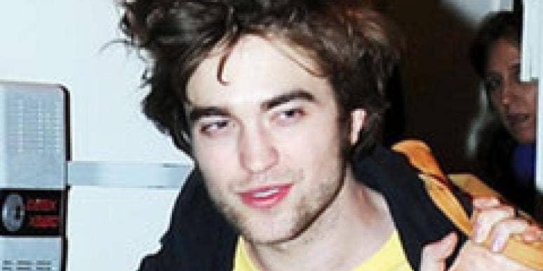 Robert Pattinson talks too much