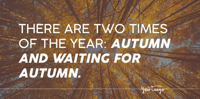 27 Fall Season Quotes About The Beauty Of Autumn Yourtango