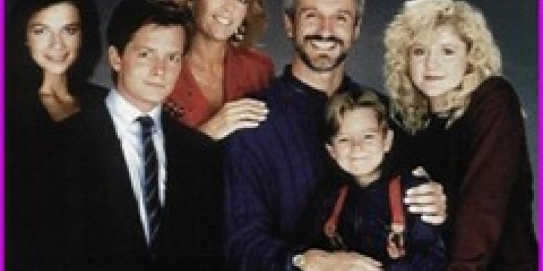 Meredith Baxter & Family Ties cast