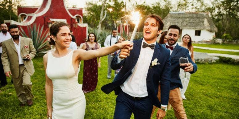 5 Non-Religious Wedding Ceremony Ideas & Rituals That Are Spiritual, But Not Religious