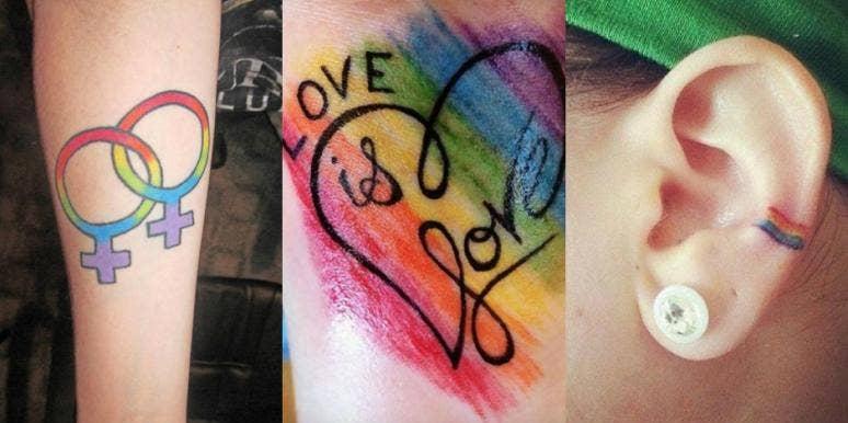 20 Best LGBTQ+ Tattoos, Lesbian Tattoos, Gay Tattoos & Transgender Tattoos To Celebrate June Pride Month 2019