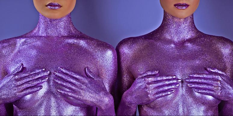 Glitter Boobs Are A Thing —Thanks A LOT Coachella