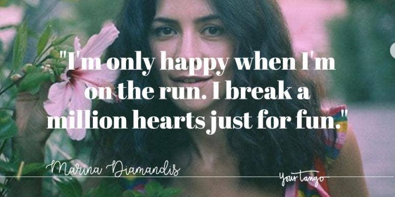 Best Marina Diamandis Lyrics Song Quotes