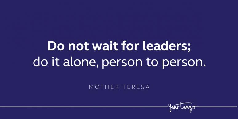Inspirational Mother Teresa Quote
