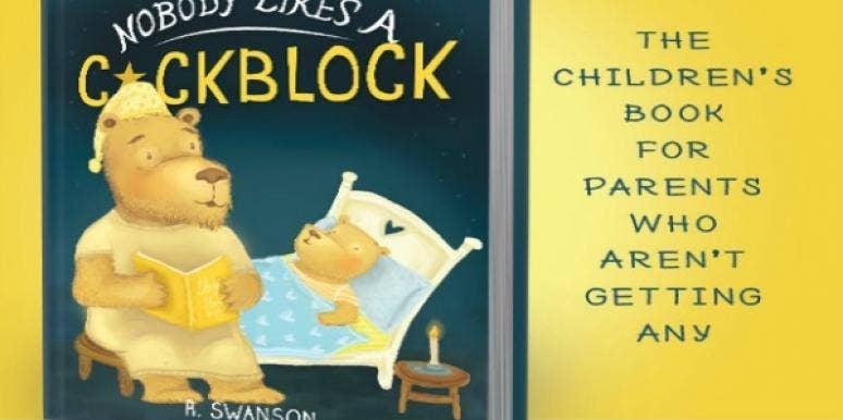 Nobody likes a cockblock pic.