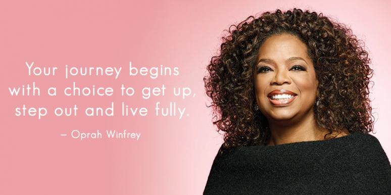 best oprah winfrey quotes about life success how to make a