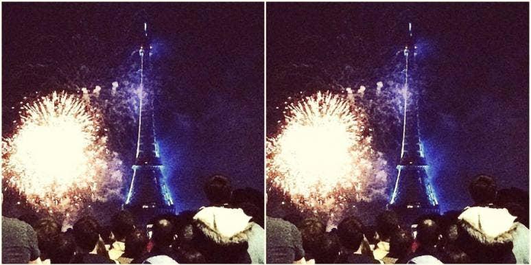 Bastille Day France Fireworks