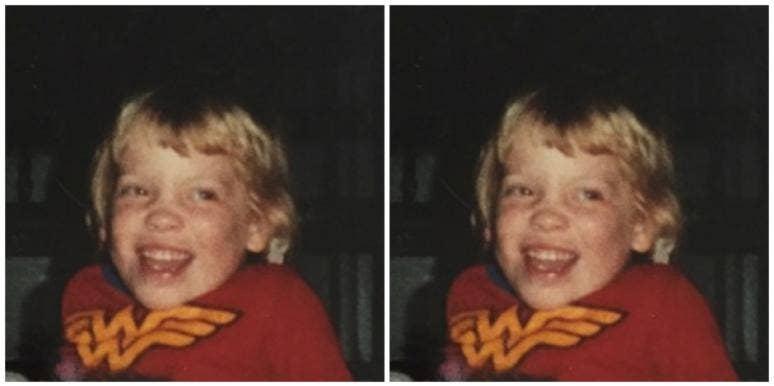 self-esteem as a kid