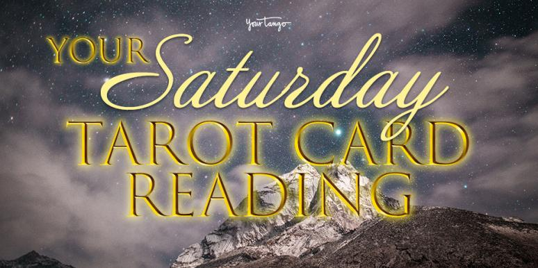 Daily Tarot Reading + Numerology Horoscope For Saturday