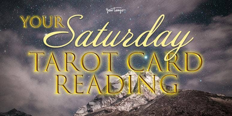 Daily Tarot Reading + Numerology Horoscope For Saturday