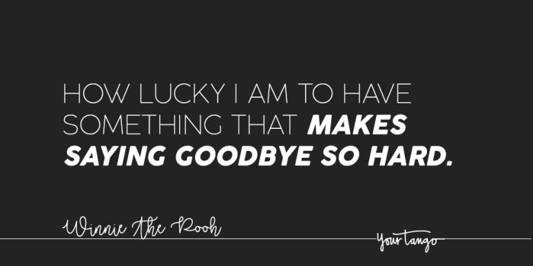 sad quotes about saying goodbye for when you re heartbroken