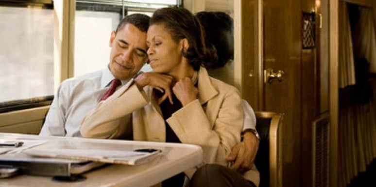 Michelle Obama Stumps For Husband