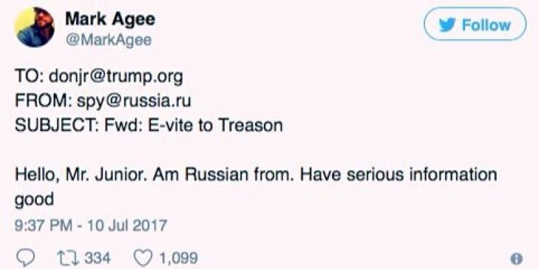 Best Memes Funny Tweets Donald Trump Jr. Russia Collusion Emails