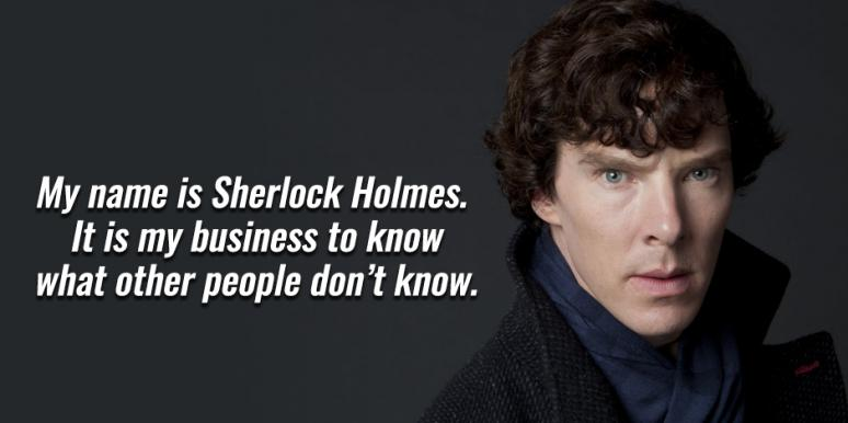 Sherlock Holmes Quotes, Sir Arthur Conan Doyle Quotes