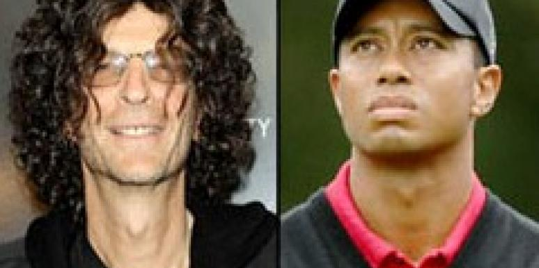 Howard Stern, Tiger Woods