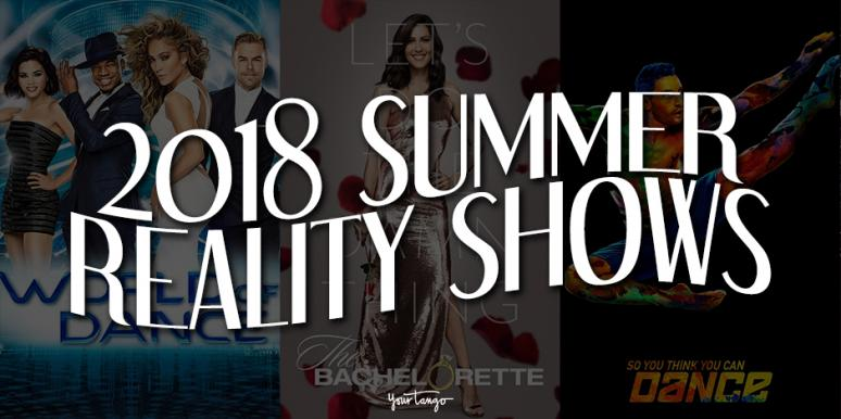New reality dating shows 2018