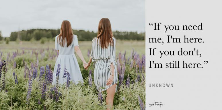 25 Thinking Of You Quotes To Send To Someone Who Needs A Friend