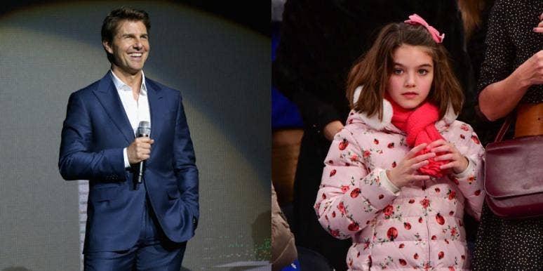 Suri Cruise, Tom Cruise, Misses Dad, Hasn't Seen Four Years