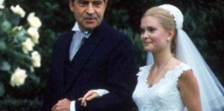 Tricia Nixon's wedding