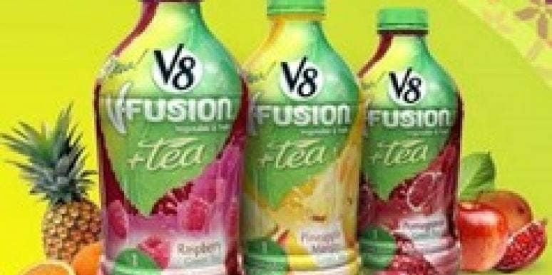V8 V-Fusion + Tea