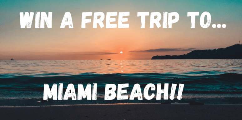 Miami Vacation Giveaway