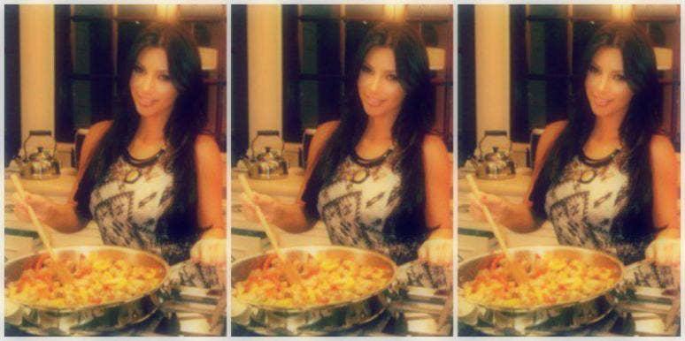 Kim Kardashian West Cooking