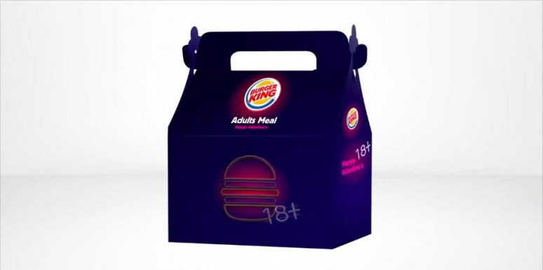 Burger King Israel Giving Away Sex Toys In Valentine's Day Adult Meals