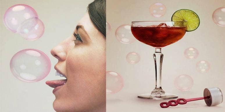 alcohol bubblelick