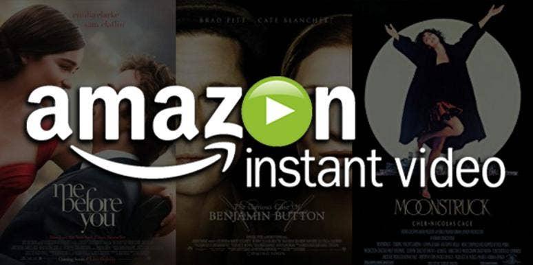 Amazon Prime Amazon Instant Video Valentines Day Romantic Movies