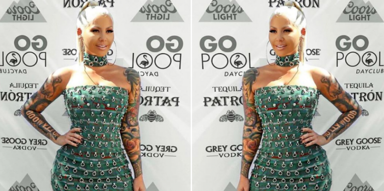 Amber Rose breast reduction photos