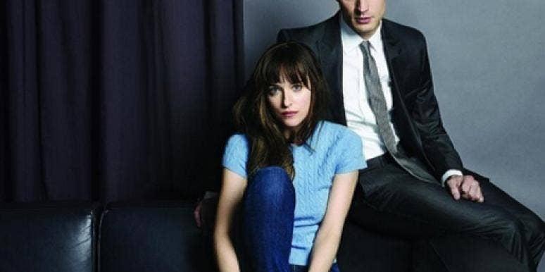 50 Shades Of Grey photo of Jamie Dornan as Christian Grey and Dakota Johnson as Ana Steele