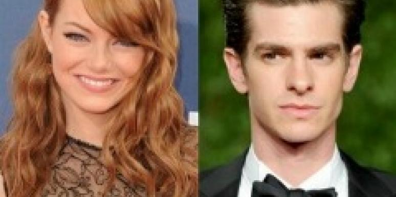 Andrew Garfiedl and Emma Stone