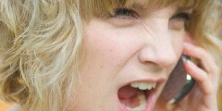 angry single girl