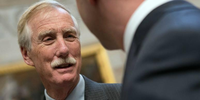 Who Is Angus King's Wife? New Details On Mary Herman King