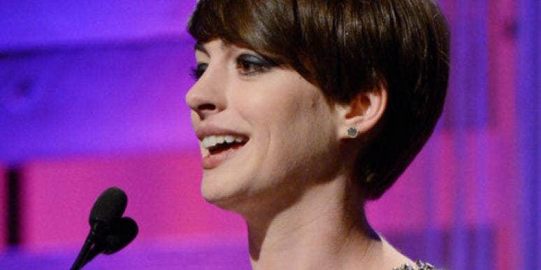 Anne Hathaway & More Stars Support International Women's Day