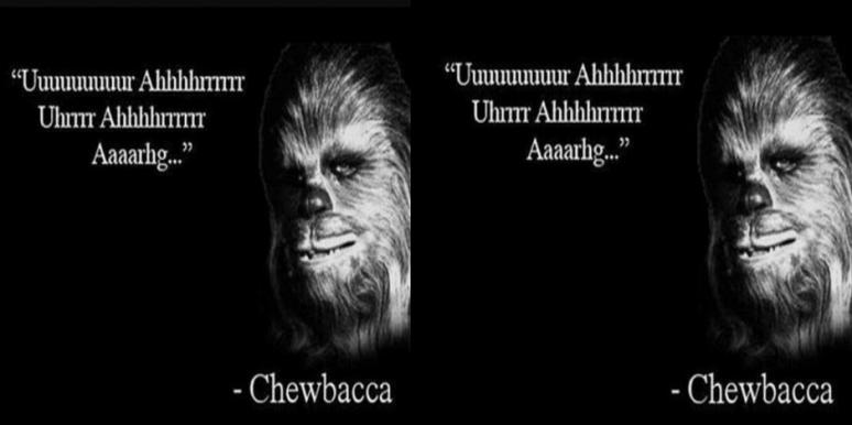 Chewbacca Star Wars Christmas song