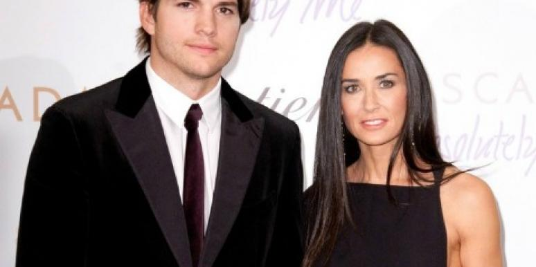 """Demi Moore Divorcing Ashton Kutcher """"With Great Sadness"""""""