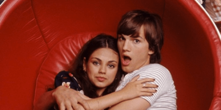 Ashton Kutcher and Mila Kunis in That 70s Show