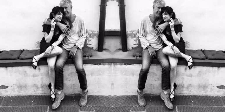 Who is Anthony Bourdain's girlfriend?