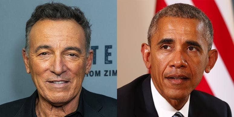 Bruce Springsteen and Barack Obama release a podcast